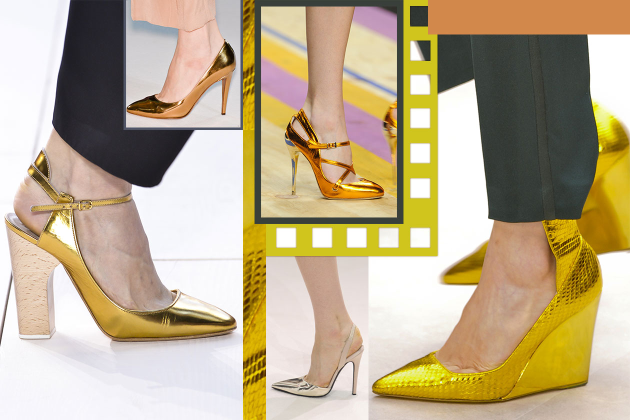 Fashion 23 must have 2013 Gold Shoes