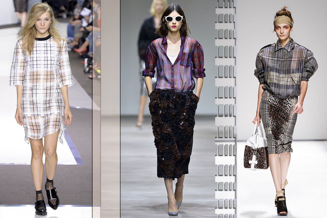 Fashion 23 must have 2013 Tartan trasparente