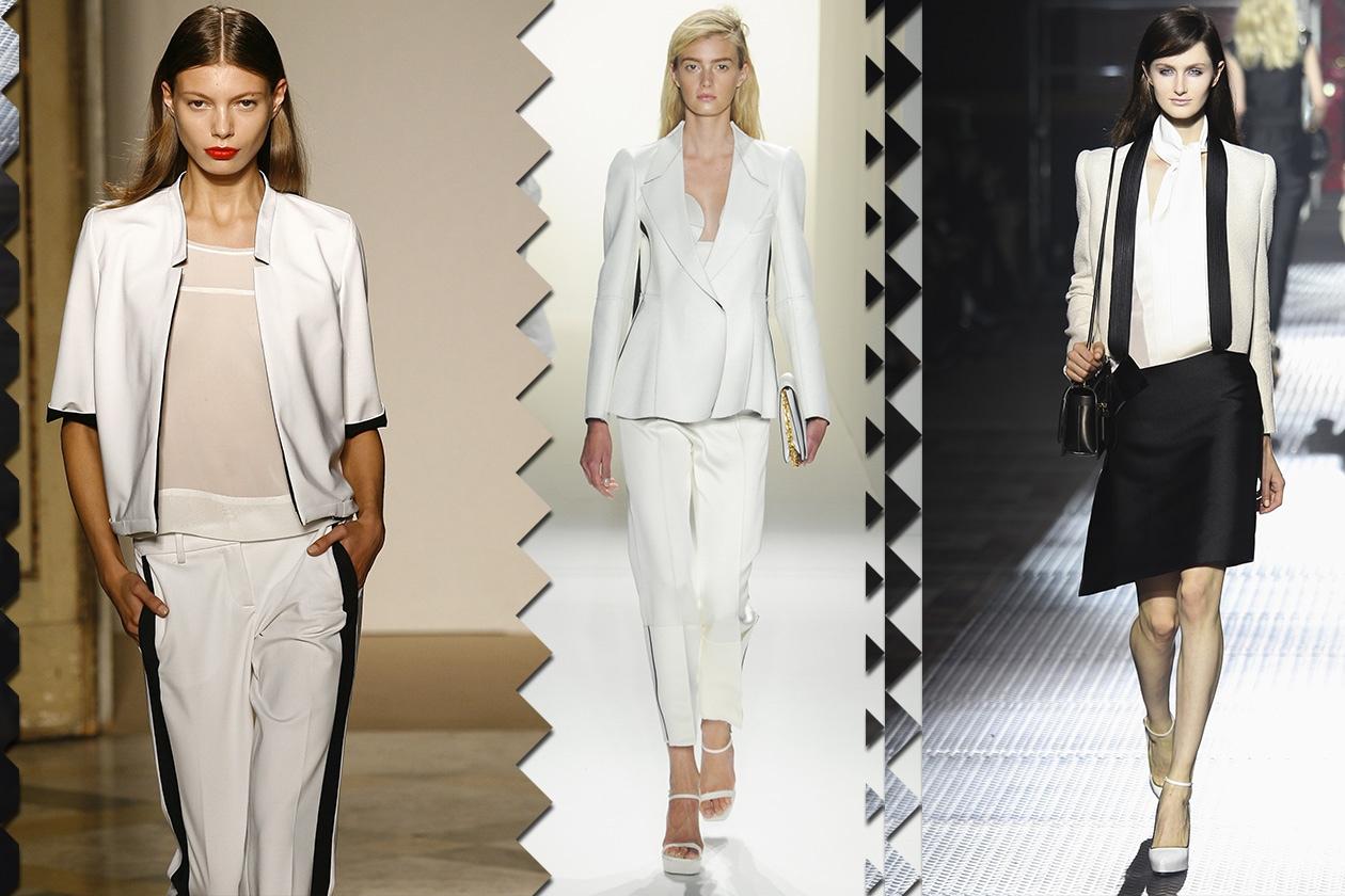 Fashion 23 must have 2013 Tuxedo Bianco