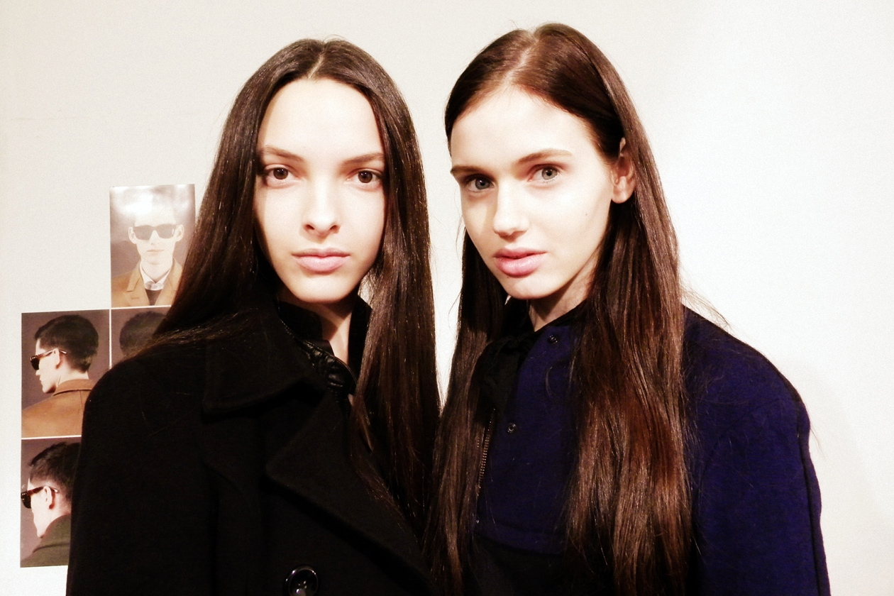 Blugirl A/I 2013-14: il backstage beauty&hair