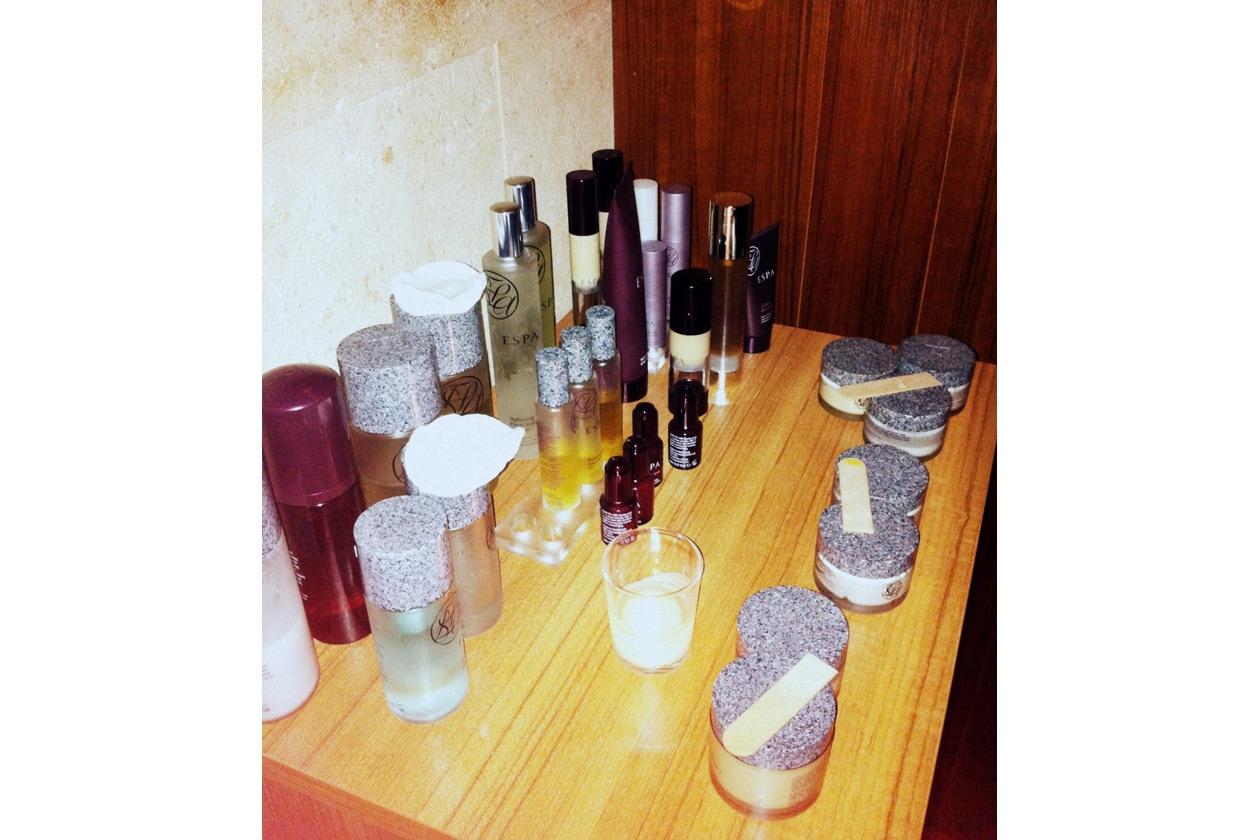 I prodotti utilizzati per il massaggio total body