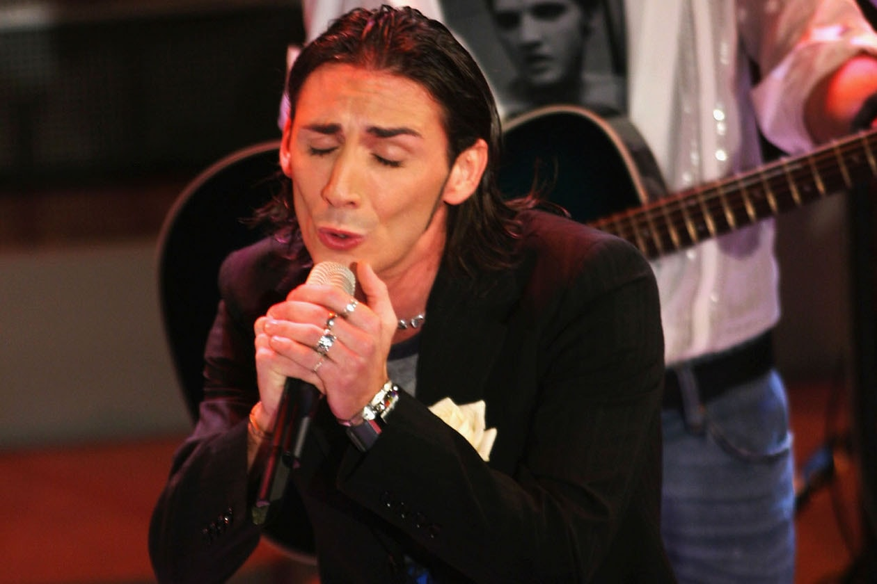 Kekko Silvestre nel 2005
