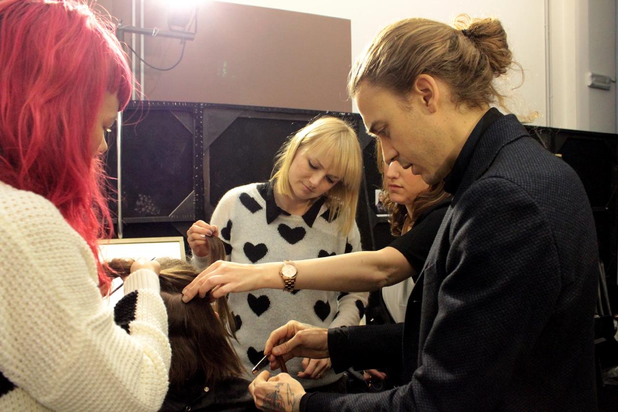 L'hairstylist James Pecis per L'Oréal Professionnel