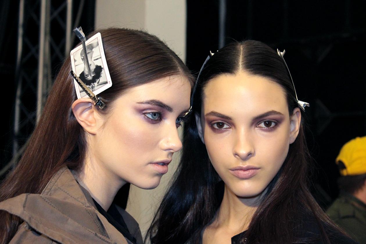 Mila Schön A/I 2013: il backstage hair&beauty