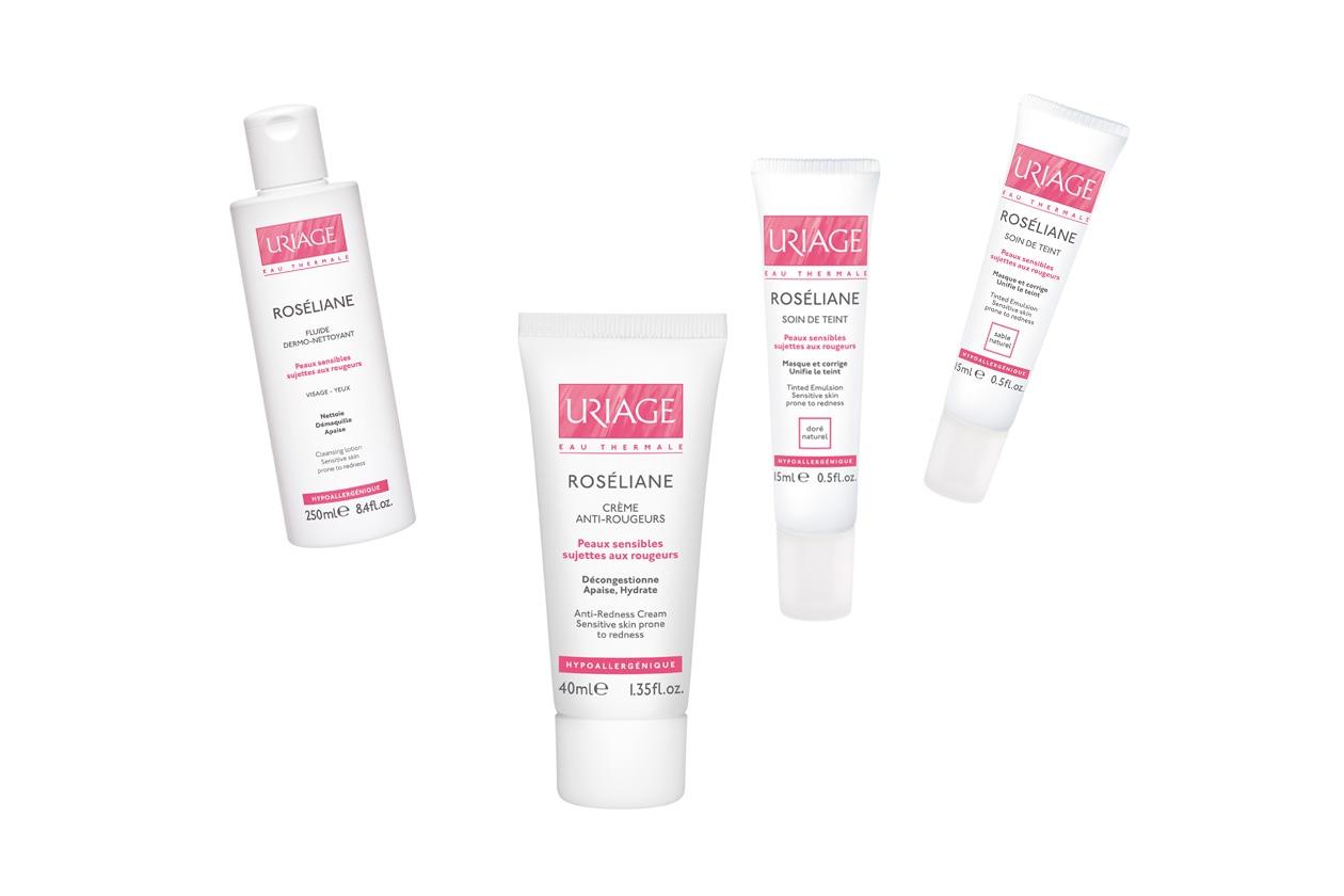 Roseliane è la linea per le pelli reattive dei Laboratoires Dermatologiques d'Uriage