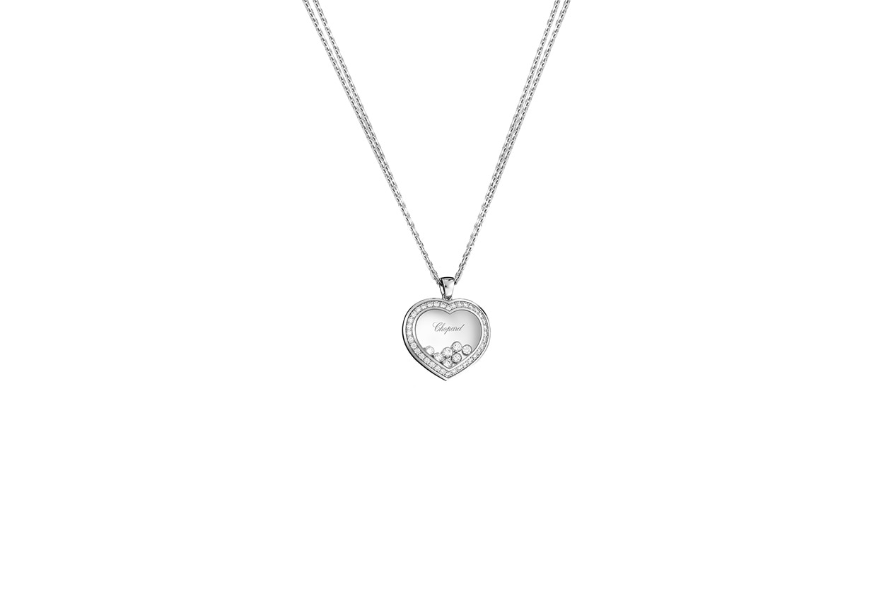 San Valentino 799202 1003 Happy Diamonds Pendant white