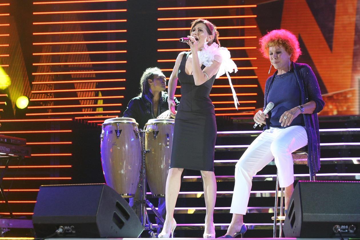 Simona Molinari e Ornella Vanoni