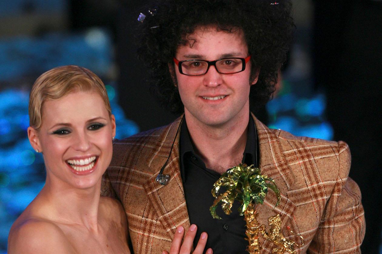 Simone Cristicchi e Michelle Hunziker