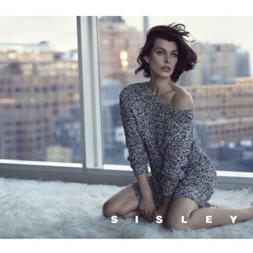 Sisley sceglie Milla Jovovich