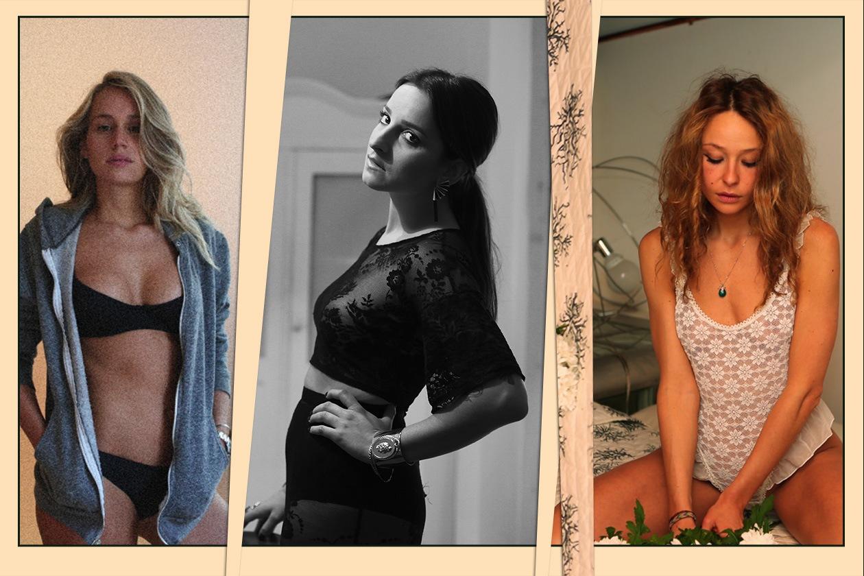 Sotto il vestito Cover Collage