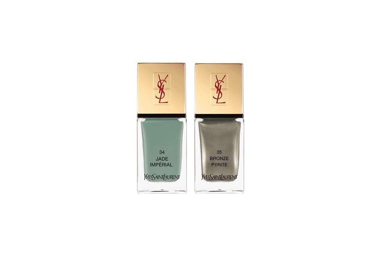 Yves Saint Laurent propone due colori facili da abbinare e con un mood classico-vintage ma molto femminile