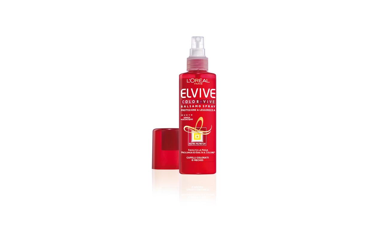 beauty prodotti per capelli colorati ELVIVE Color Vive Balsamo Spray