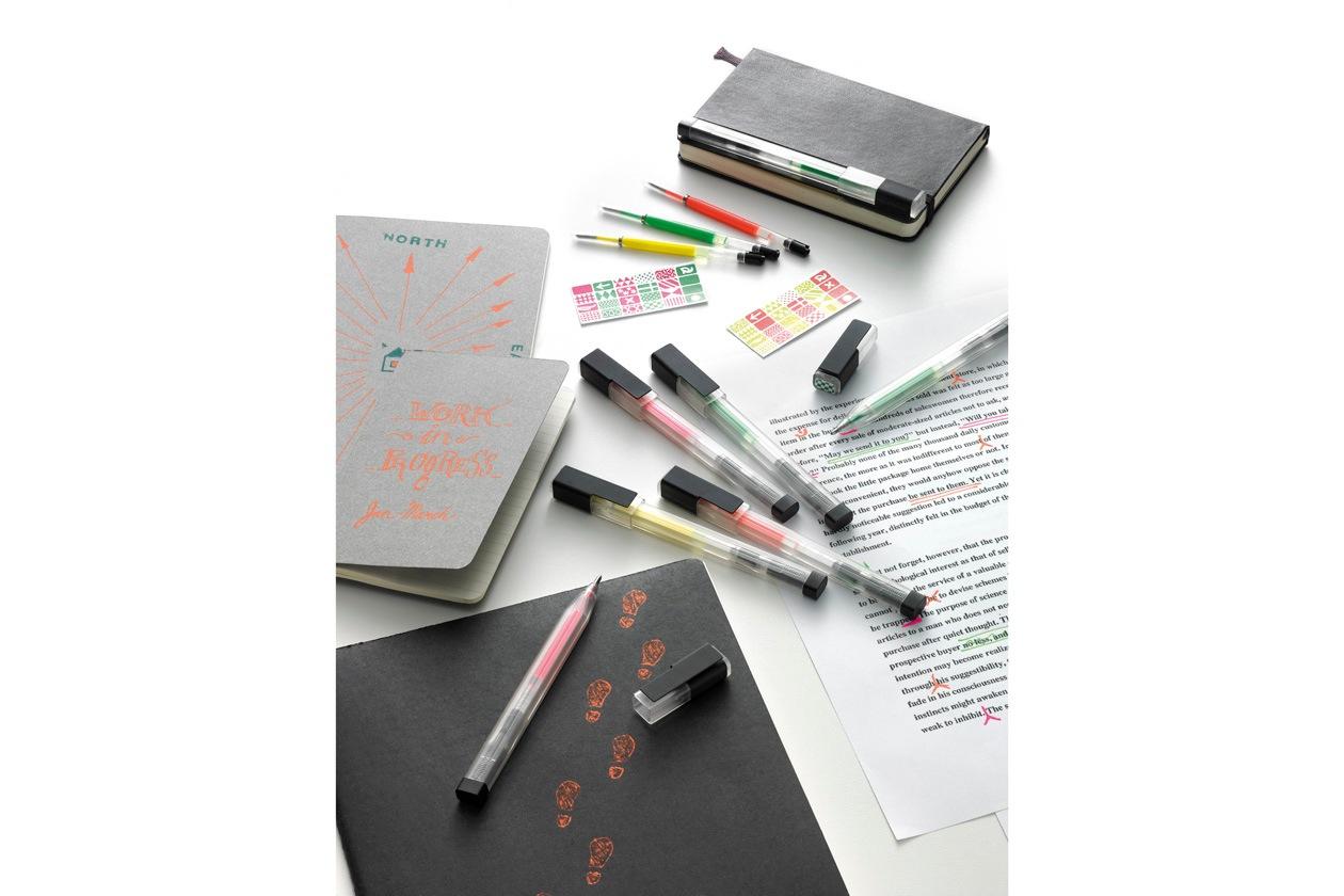 fluorescent roller pens 3