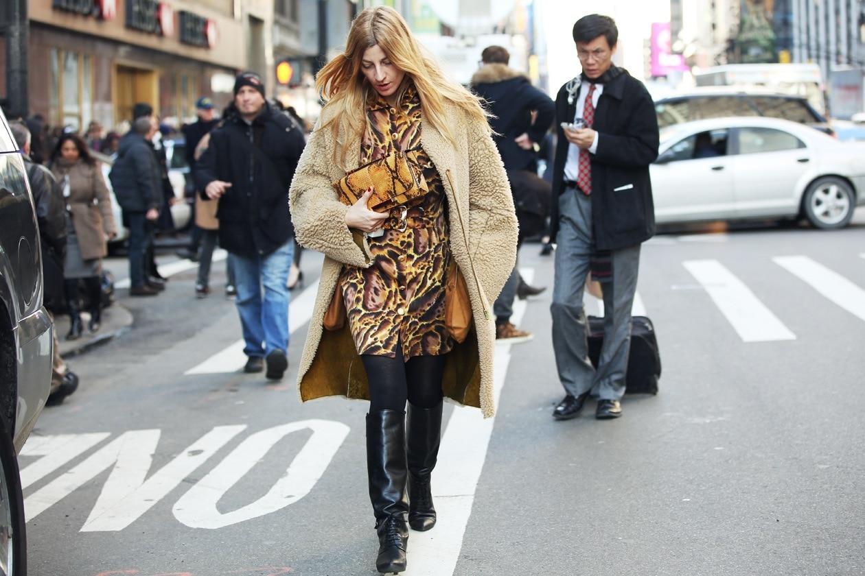 New York Fashion Week: Street Style del 14 Febbraio