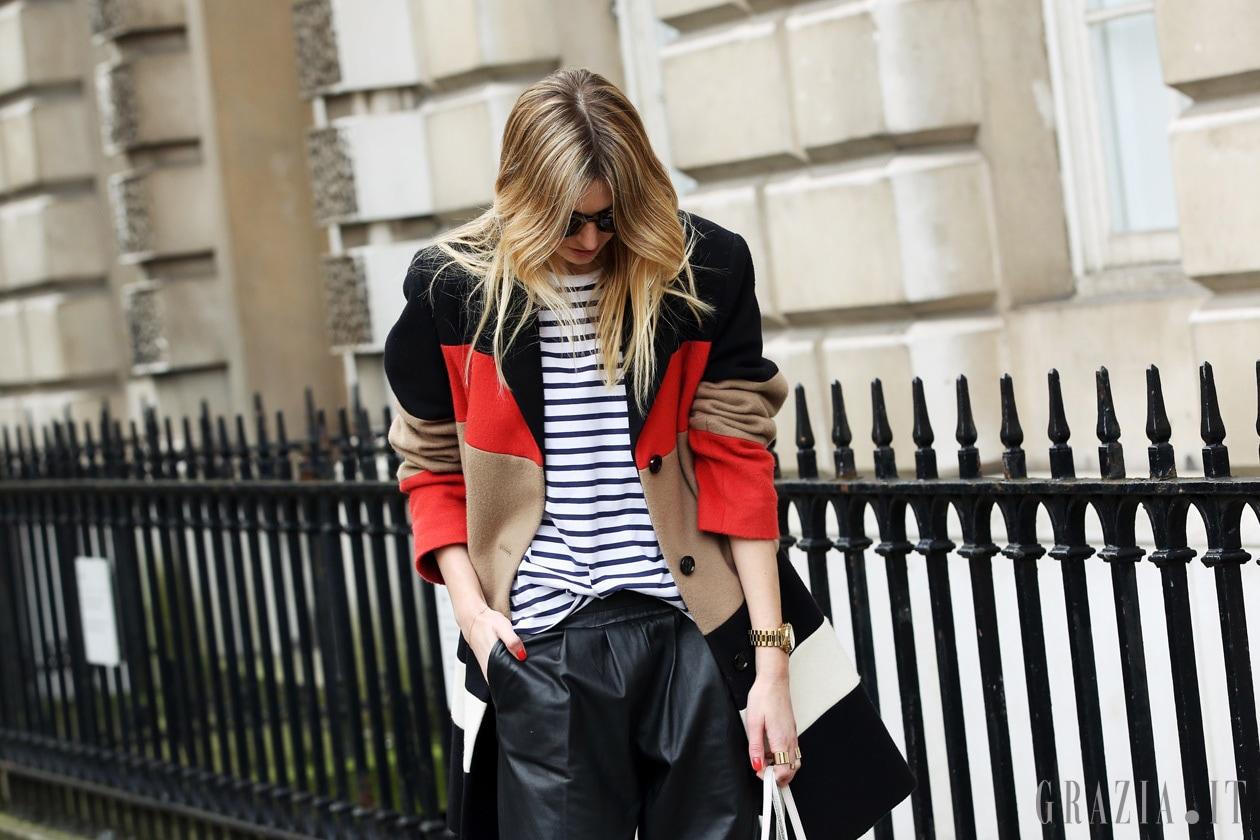 London Fashion Week: street style del 16 febbraio