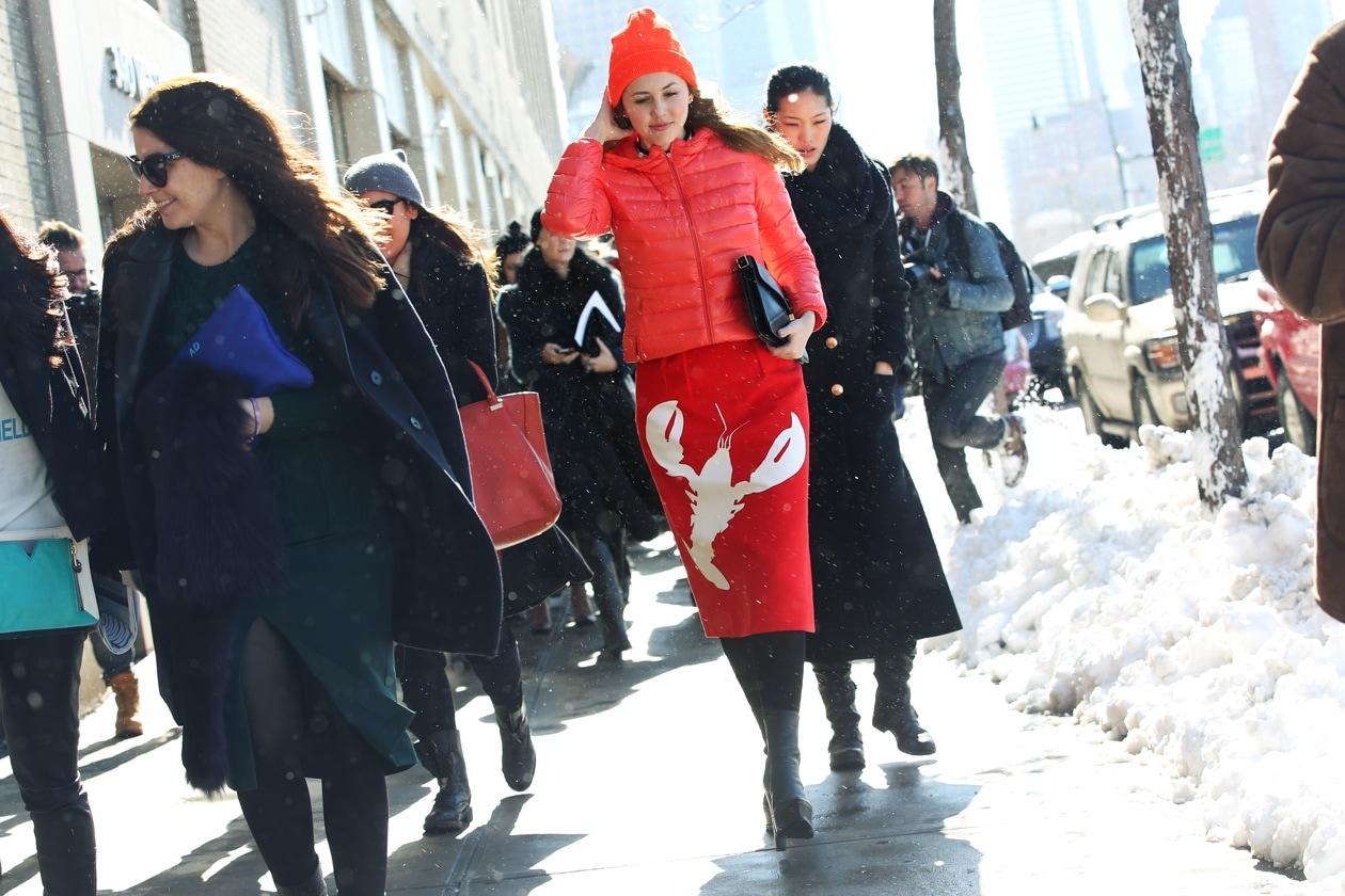 New York Fashion Week: streetstyle del 9 febbraio