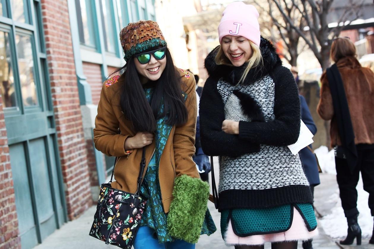 New York Fashion Week: Street Style del 10 Febbraio