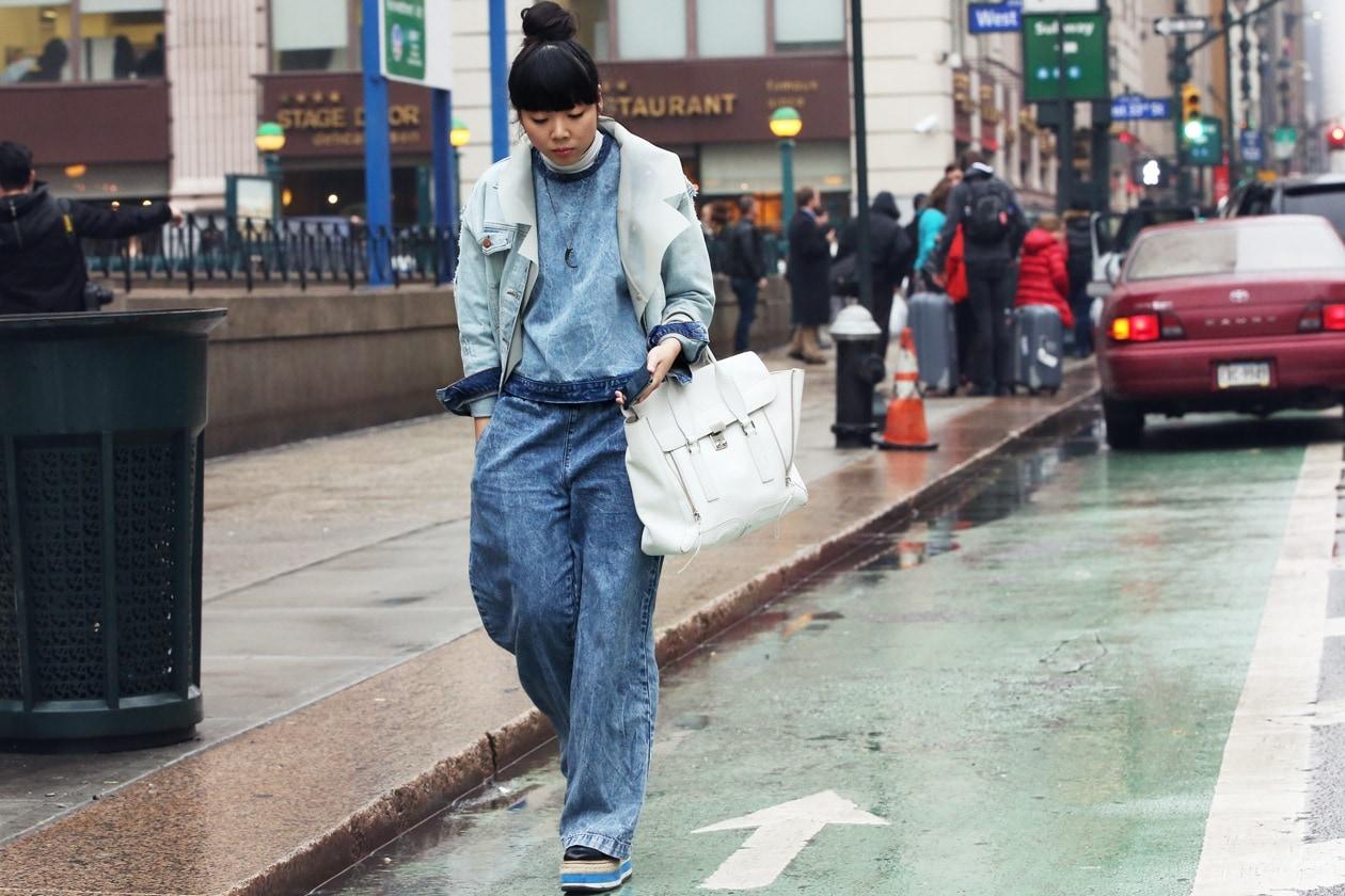 New York Fashion Week Street Style: 11 Febbraio 2013