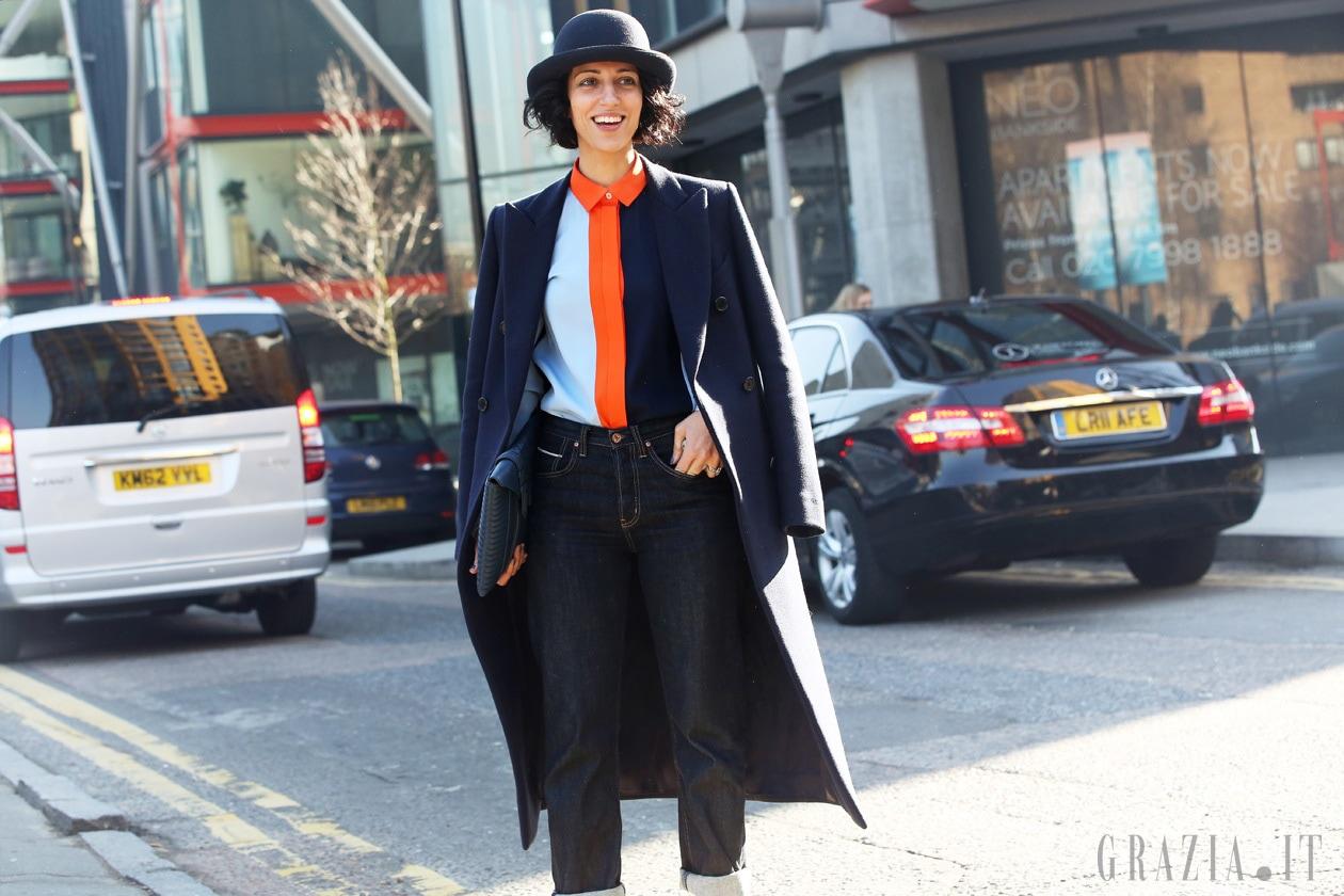 London Fashion Week: Street Style del 19 Febbraio