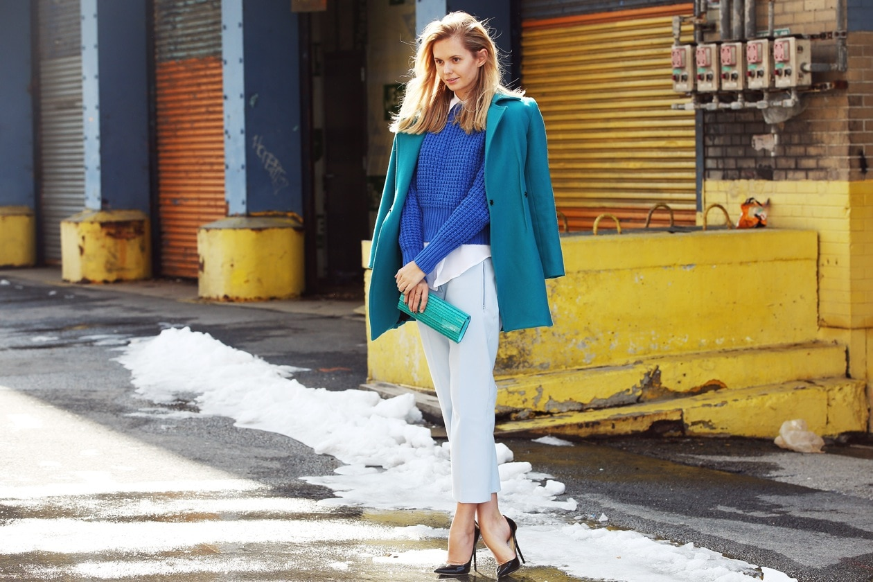 New York Fashion Week: Street Style del 12 Febbraio