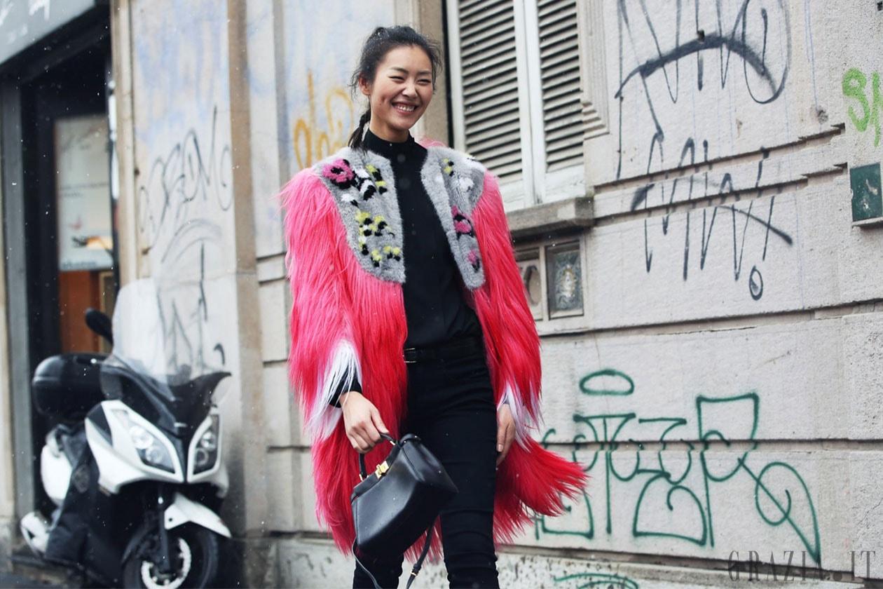 Milano Fashion Week: Street Style del 21 Febbraio
