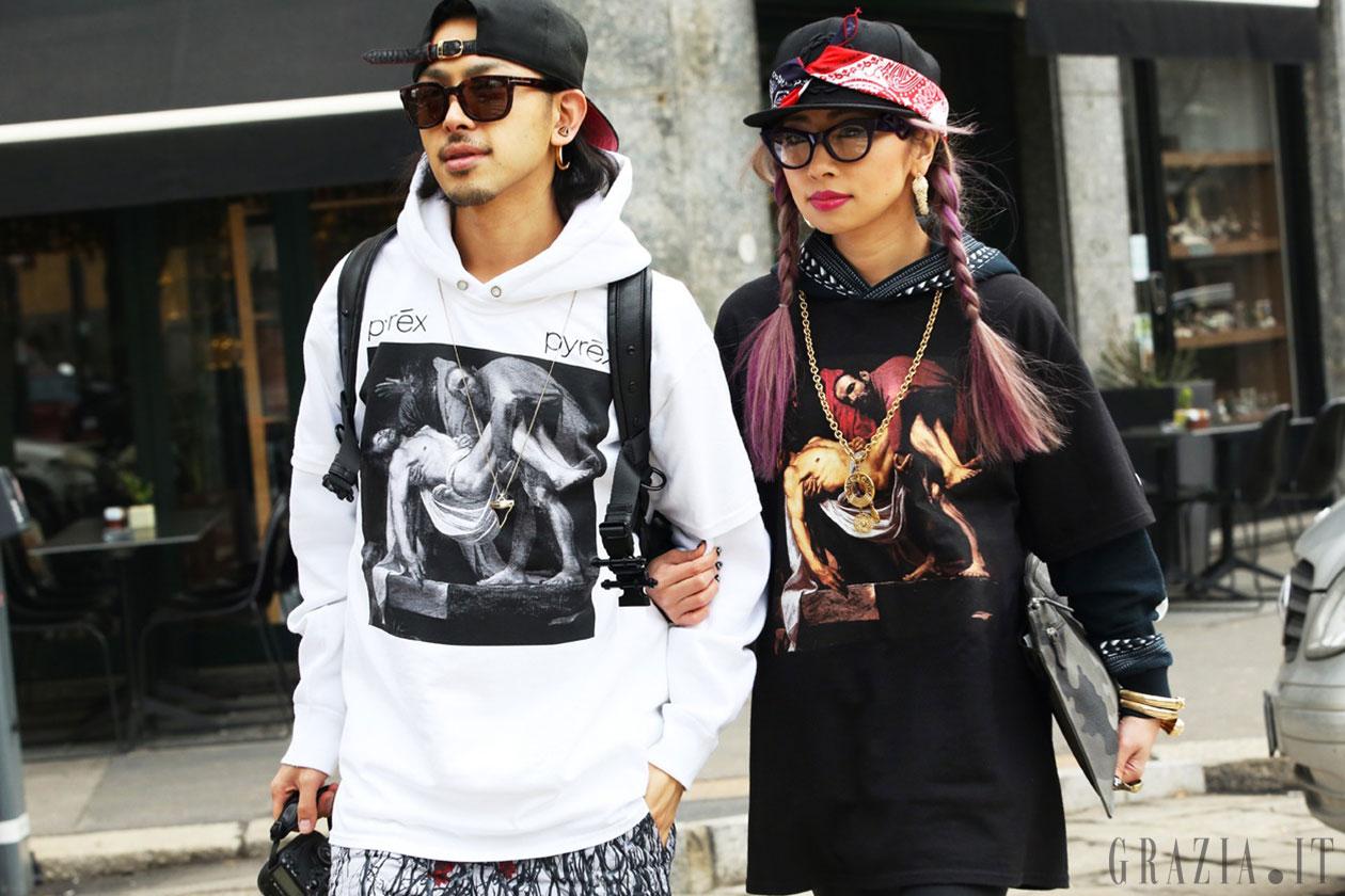 Milano Fashion Week: Street Style del 23 Febbraio