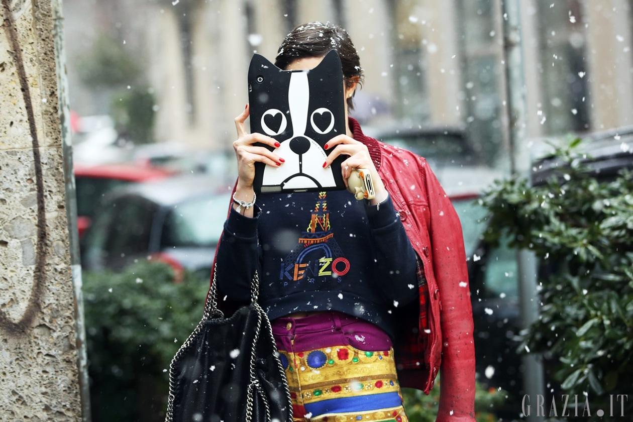 Milano Fashion Week: Street Style del 24 Febbraio