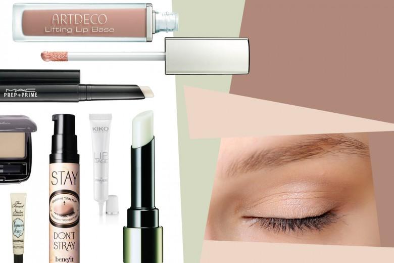 Primer: basi occhi E labbra per make up a lunga tenuta