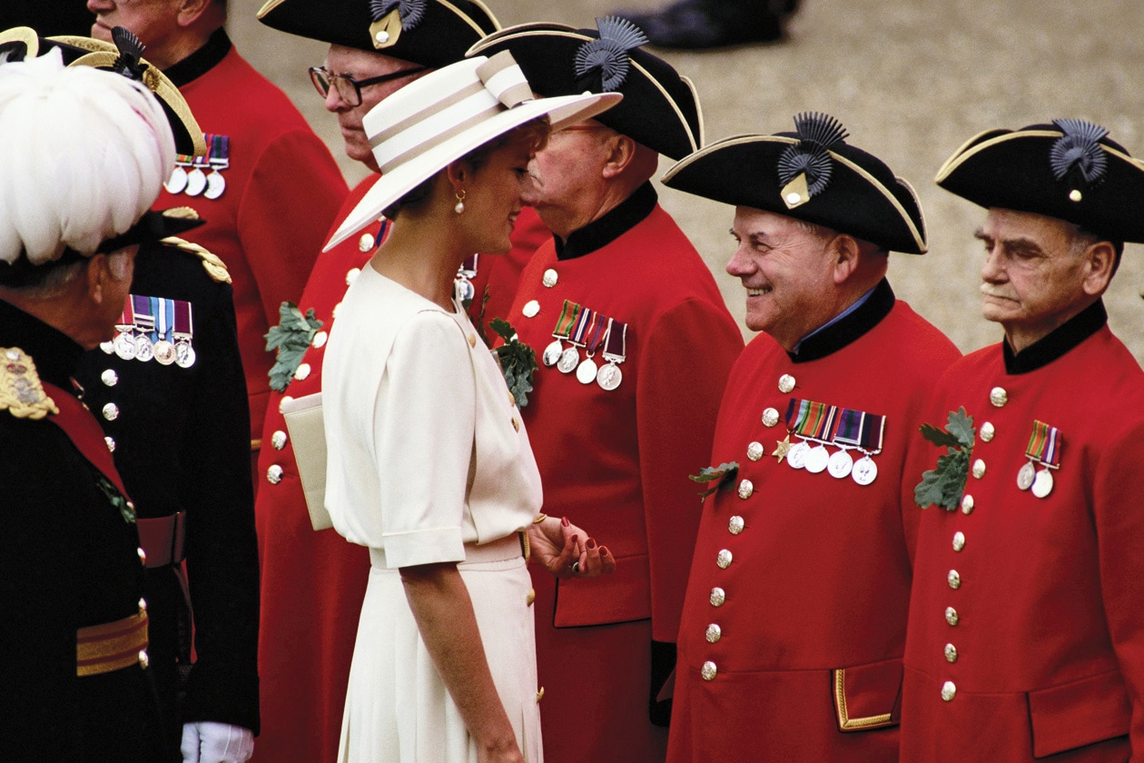 10 LADY DIANA FOUNDER'S DAY CELEBRATION ROYAL HOSPITAL CHELSEA IN LONDON