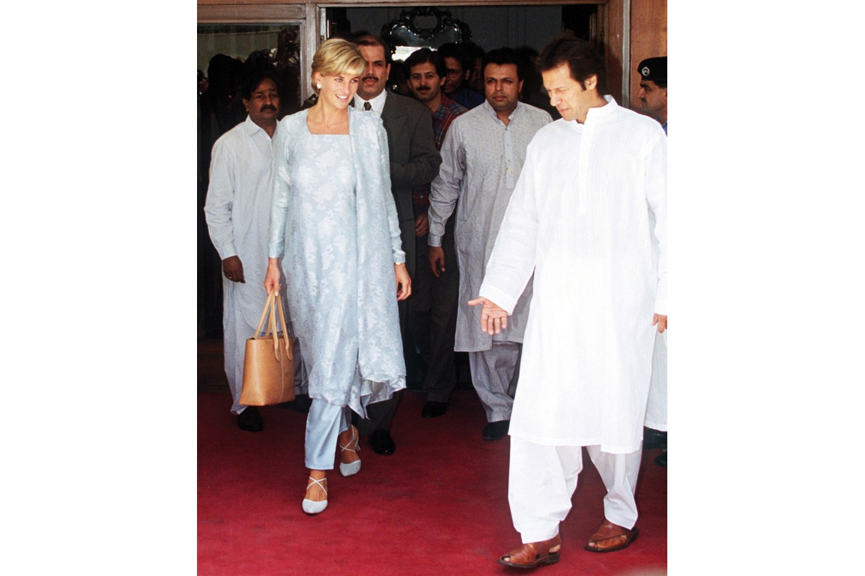 02 LADY DIANA AND IMRAN KHAN IN PAKISTAN