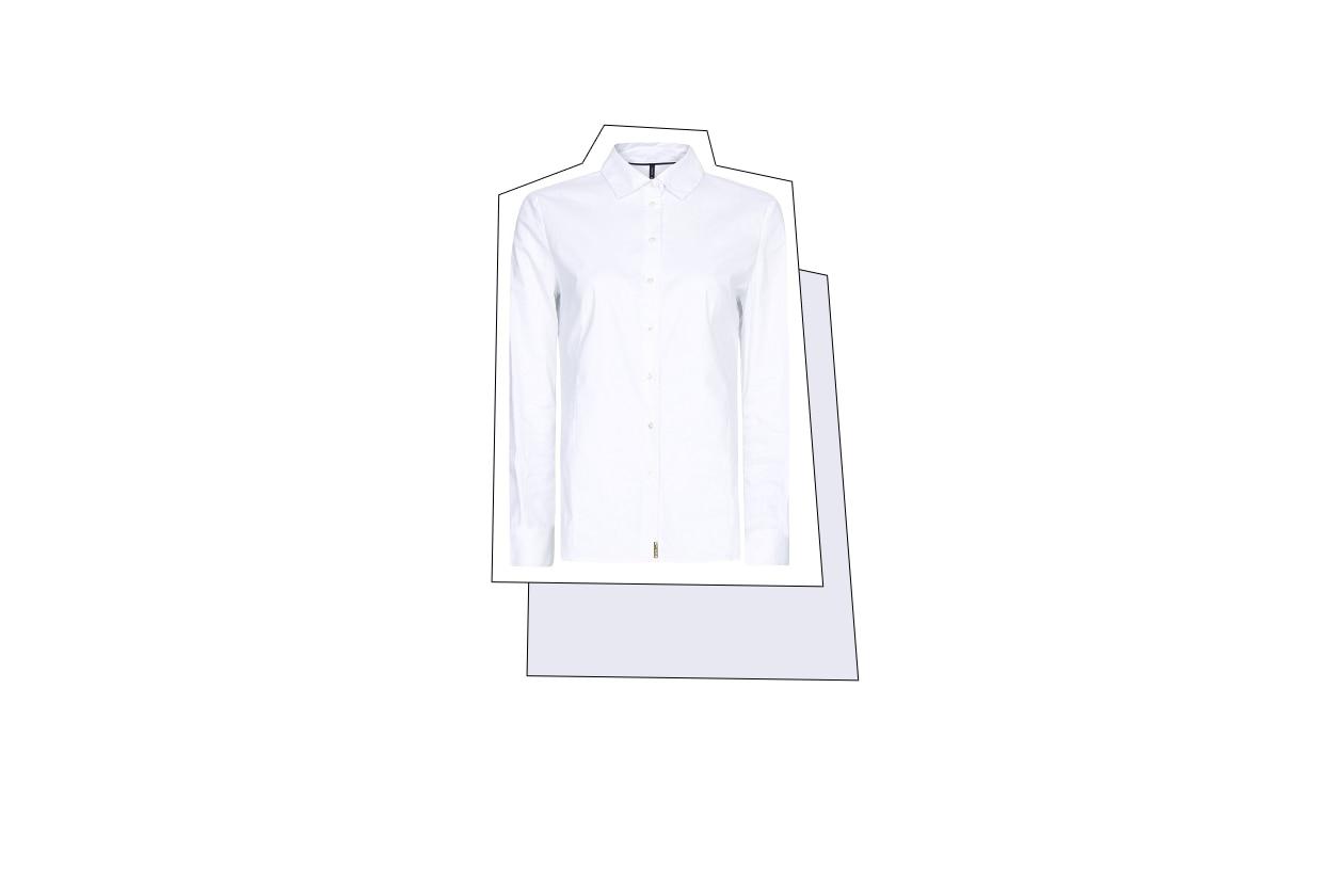 010 Fashion Camicie Bianca mango