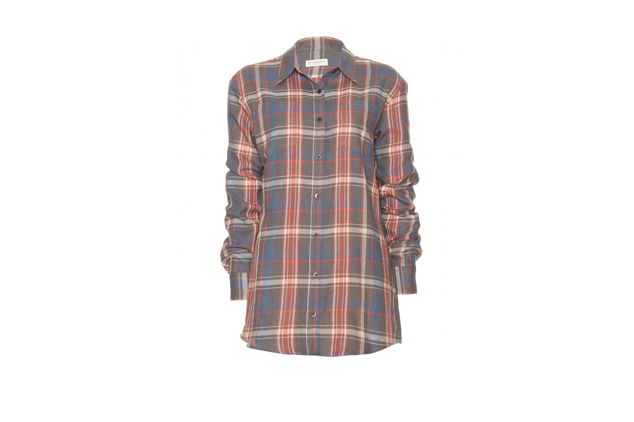 027 Fashion Camicie Tartan dries van noten