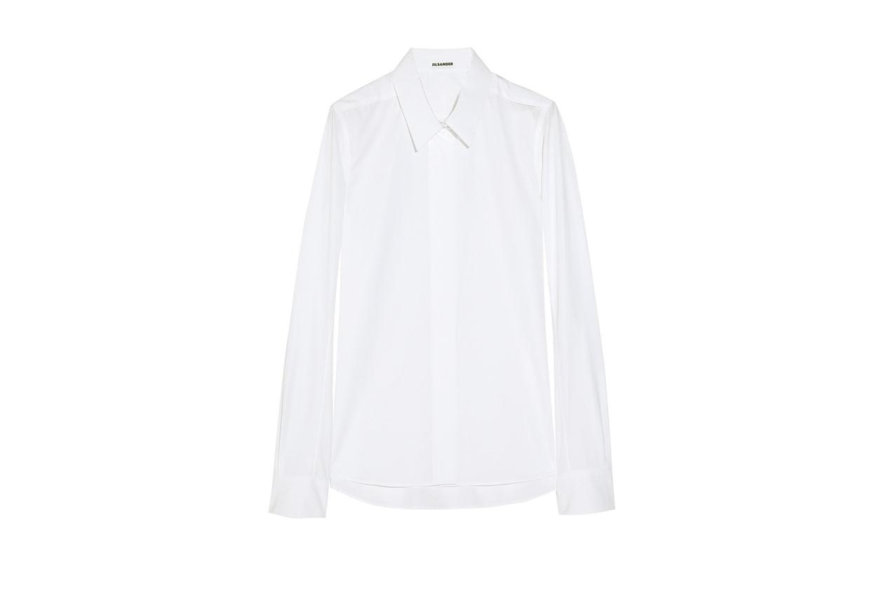 09 Fashion Camicie Bianca jil sander