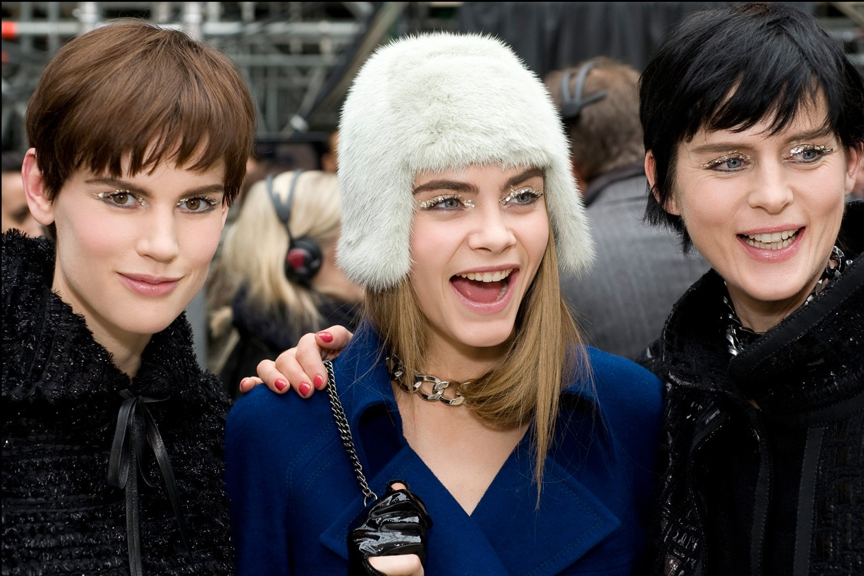 Chanel Autunno Inverno 2013-14: il backstage beauty