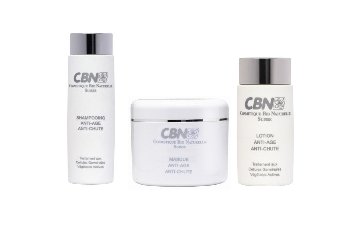 Ad azione antiage e anticaduta lo Shampooing e la Masque Anti-age e Anti-chute di Cbn a base di Cellule Germinali Vegetali Attive