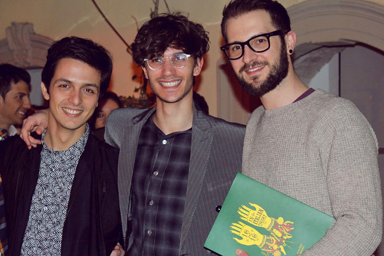 Alessandro Enriquez, Amedeo Piccione – illustratore e Riccardo – Gnam Box