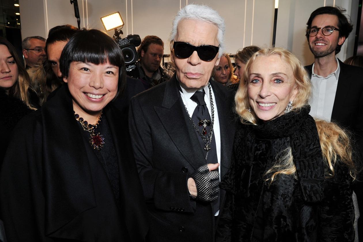 Angelica Cheung, Franca Sozzani & Karl