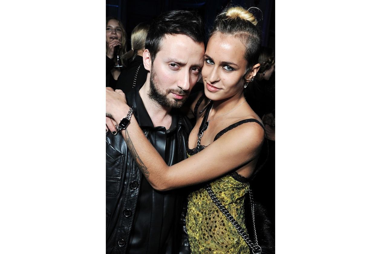 Anthony Vaccarello & Alice Dellal