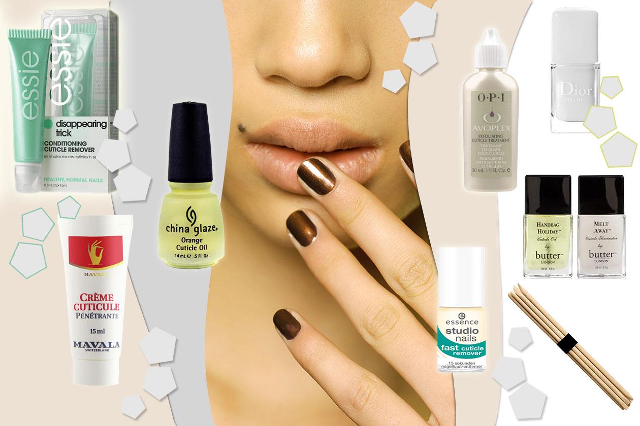 Beauty Cura cuticole Collage