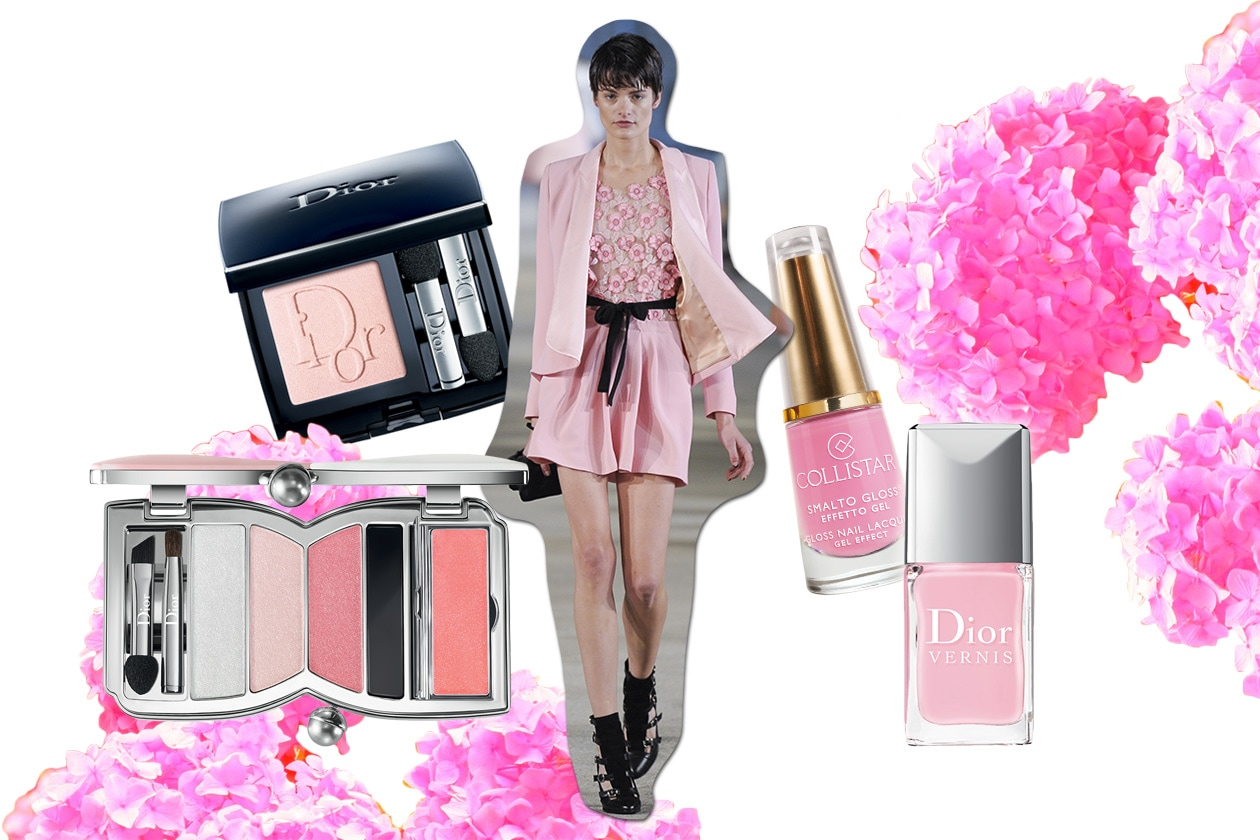 Beauty Make up in rosa Alexis Mabille ful S13 1