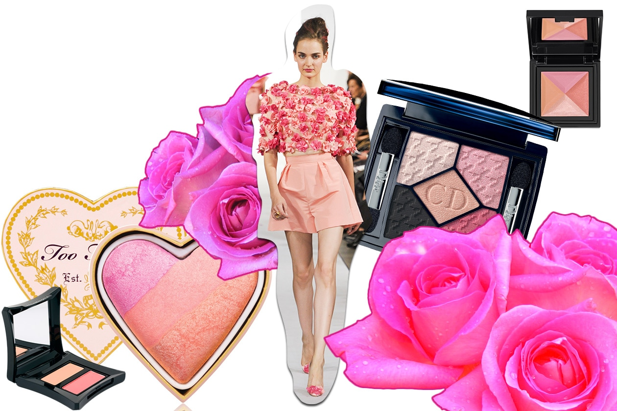 Beauty Make up in rosa O De La Renta ful S13 1