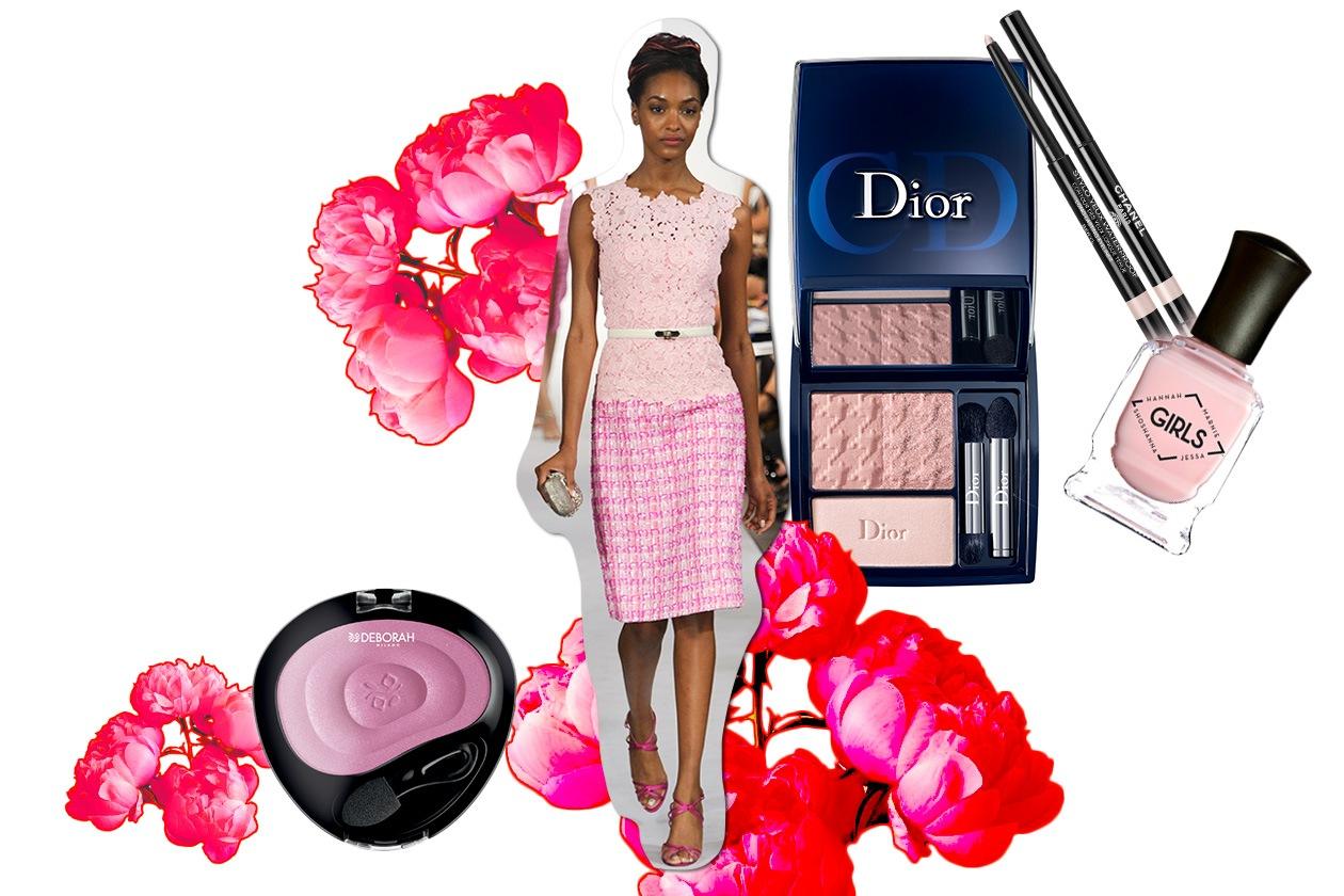 Beauty Make up in rosa O De La Renta ful S13 2