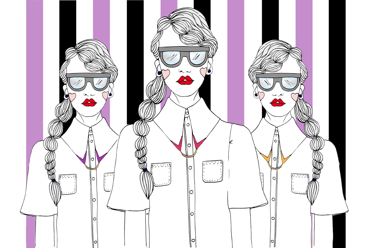 Camicia bianca illustrazione Graziait