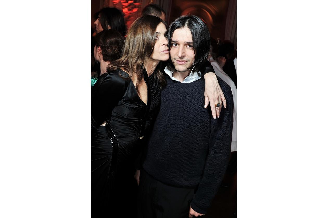Carine Roitfeld & Olivier Theyskens