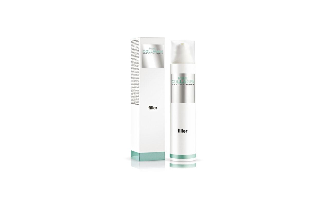 Con collagene e acido ialuronico, Pure Collagen Filler sostituisce shampoo e conditioner