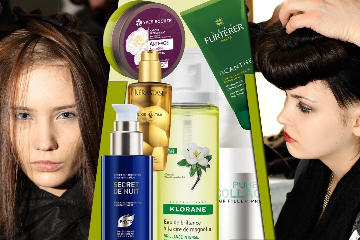 Con il passare del tempo i capelli perdono vitalità e lucentezza e tendono a cadere più facilmente. I prodotti nutrienti a effetto scudo