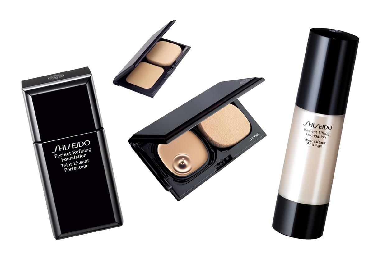 Dal fondo con finsh mat a quello che illumina il viso: le proposte di Shiseido soddisfano diverse esigenze