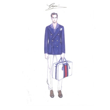 Frida Giannini e Lapo Elkann presentano Lapo's Wardrobe