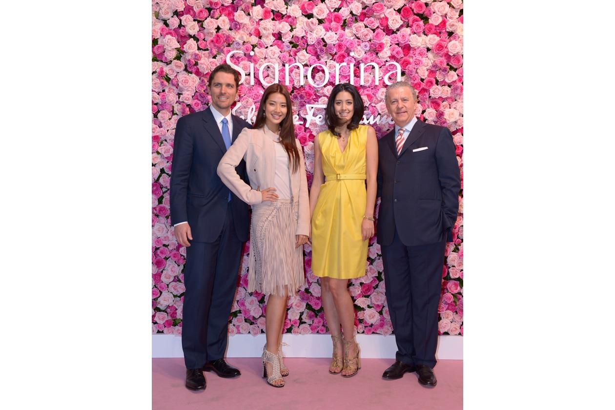 James Ferragamo VIP Ms Sumire & Ms Izumu Mori Luciano Bertinelli
