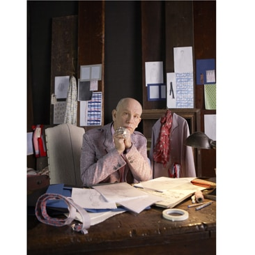 John Malkovich crea una capsule collection per Yoox.com
